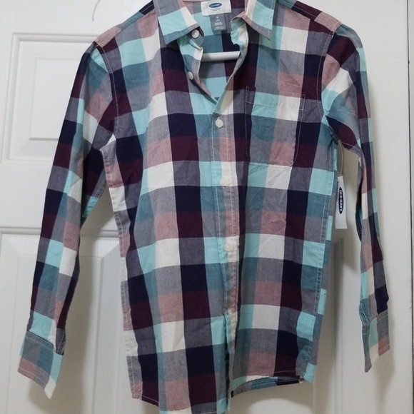 bf9d4318 Old Navy Shirts & Tops | Multicolored Checkered Shirtoldnavy | Poshmark